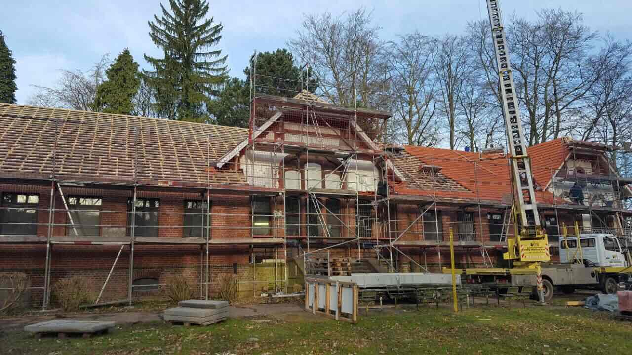 Baubeginn des Umbaus von Haus 19 in Viersen