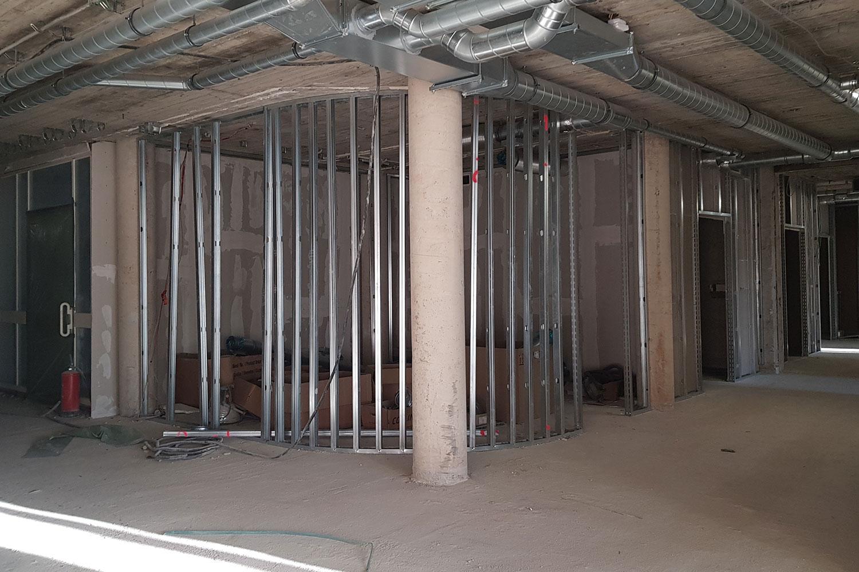 Fertigstellung der Abbruch- und Rohbauarbeiten LVR-Klinik Dependance Leverkusen