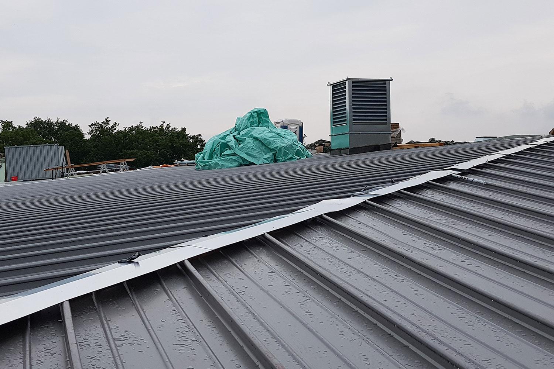 Dach- und Fassadensanierung Gebäude 2, Klinikum Leverkusen